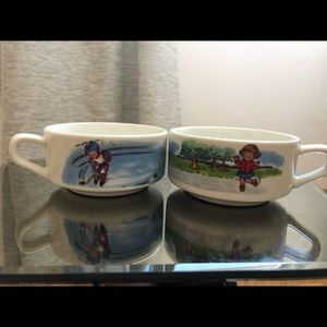 Other - Campbell's soup mug bowls 2